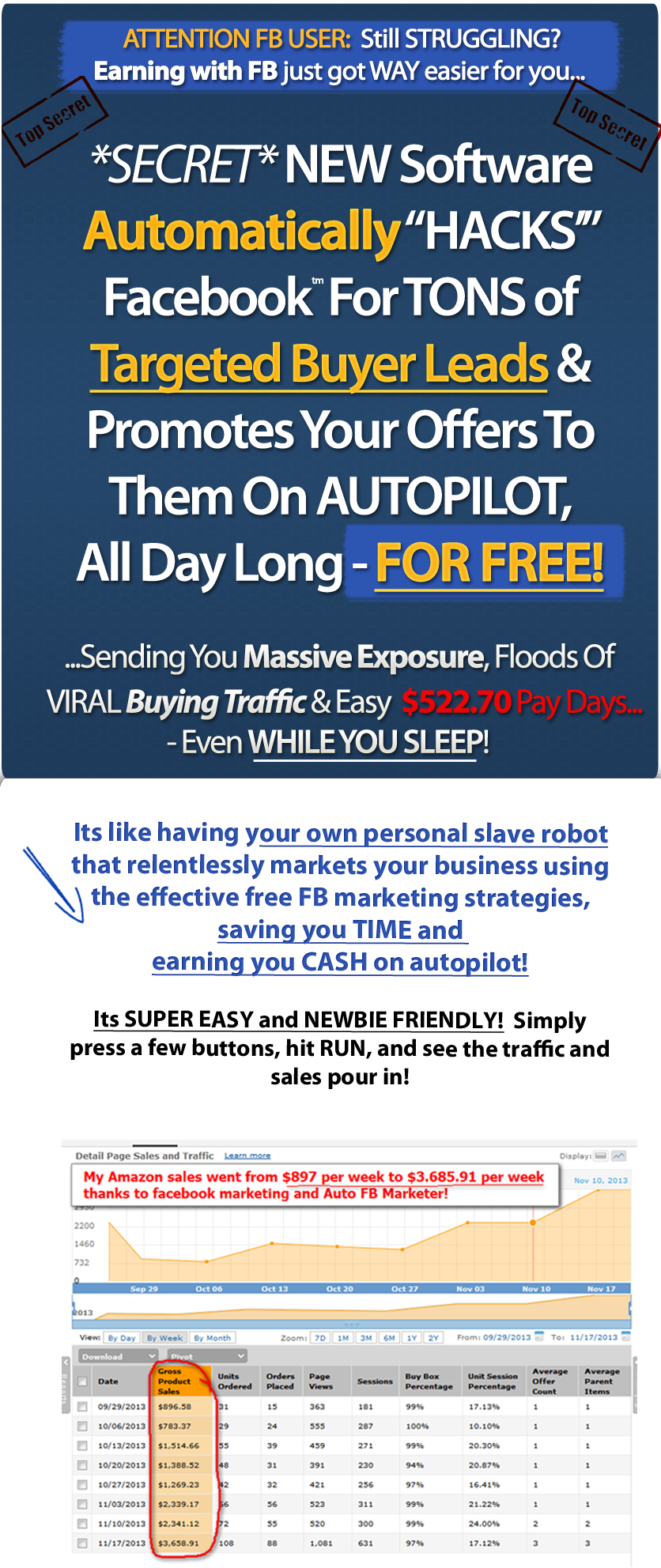 Auto FB Marketer 2.0 Software to automate your marketing