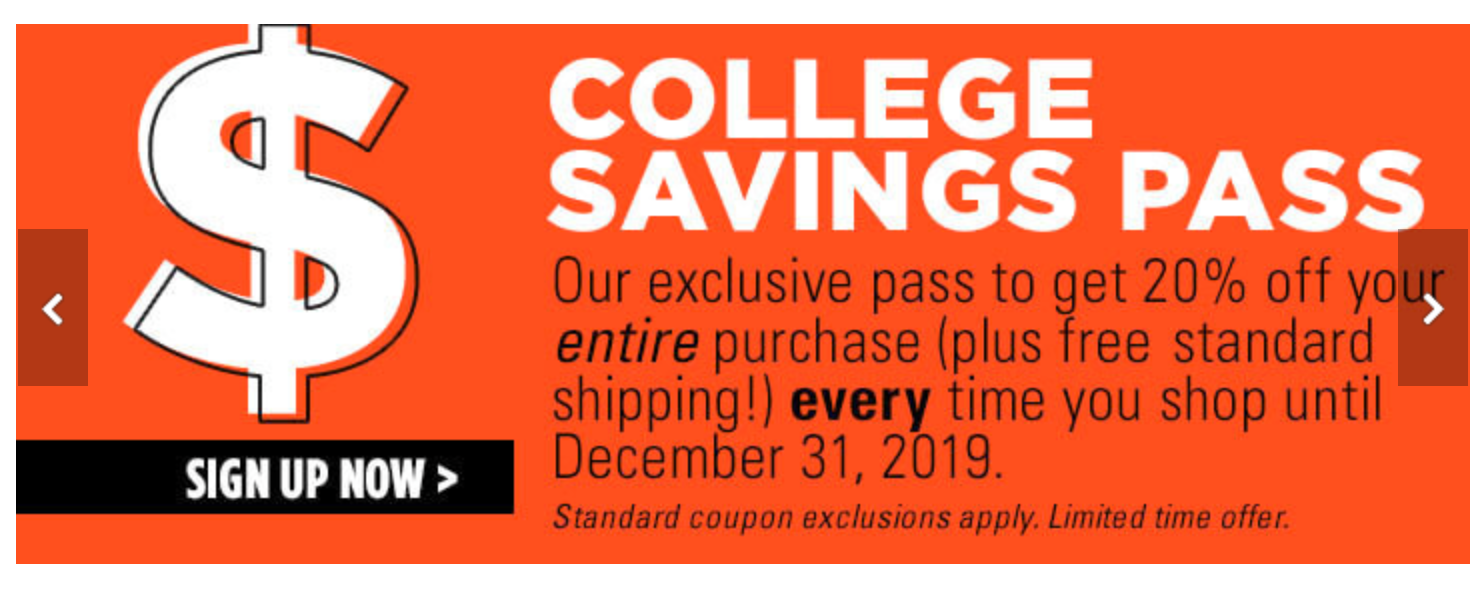 College Savings Pass College Deals Bed Bath And Beyond