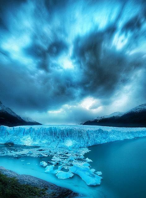 Glaciar Perito Moreno, prov. de Santa Cruz