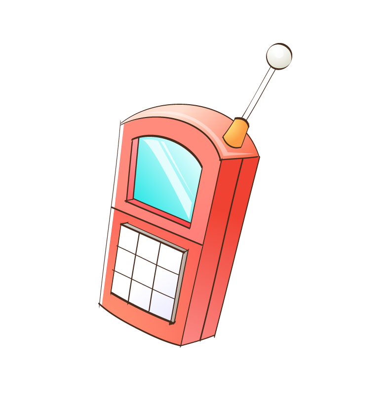 Mobile Phones Cartoon Phone Telephone Png Download Free Mobile Phone Computer Icon Phone