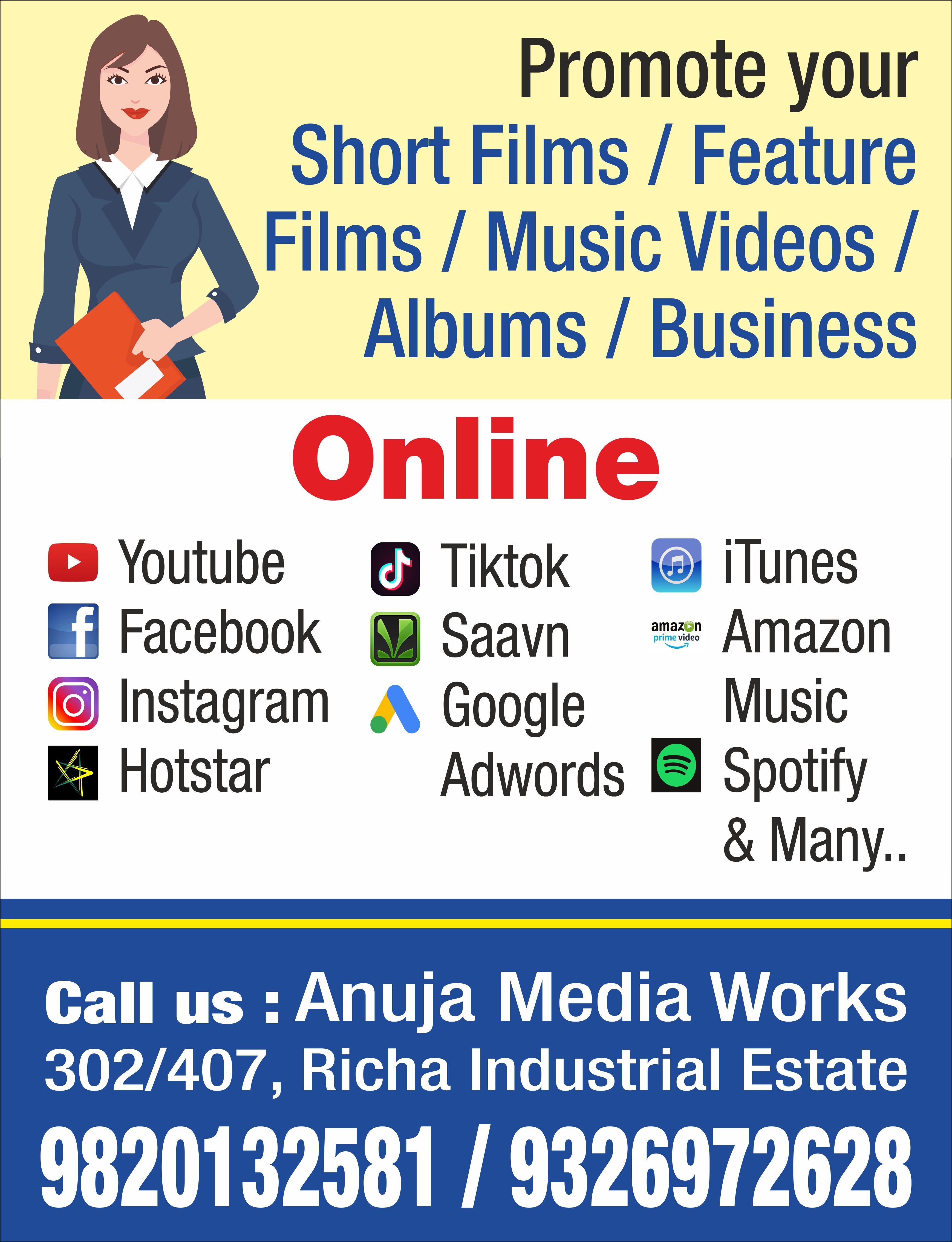 Online Promotion Google Music Radio Advertising Tv Advertising