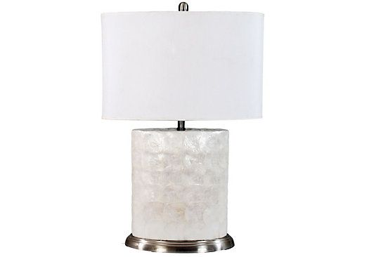 119shop For A Cindy Crawford Home Shell Lamp At Rooms To Go Find