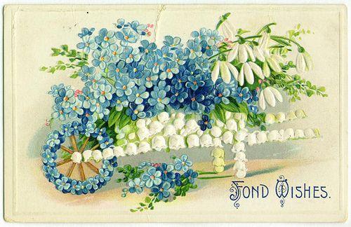 Vintage greetings card | Винтаж поздравительные открытки ...