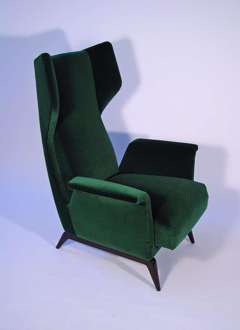A Breathtaking Pair Of Italian 1950's Armchairs 10