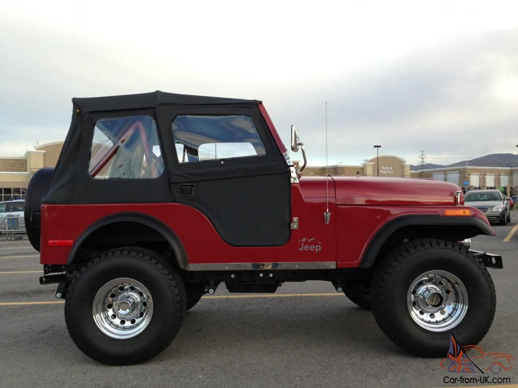 1977 jeep cj5 frame off restoration jeep 4x4 for sale jeep coches renzo pinterest. Black Bedroom Furniture Sets. Home Design Ideas