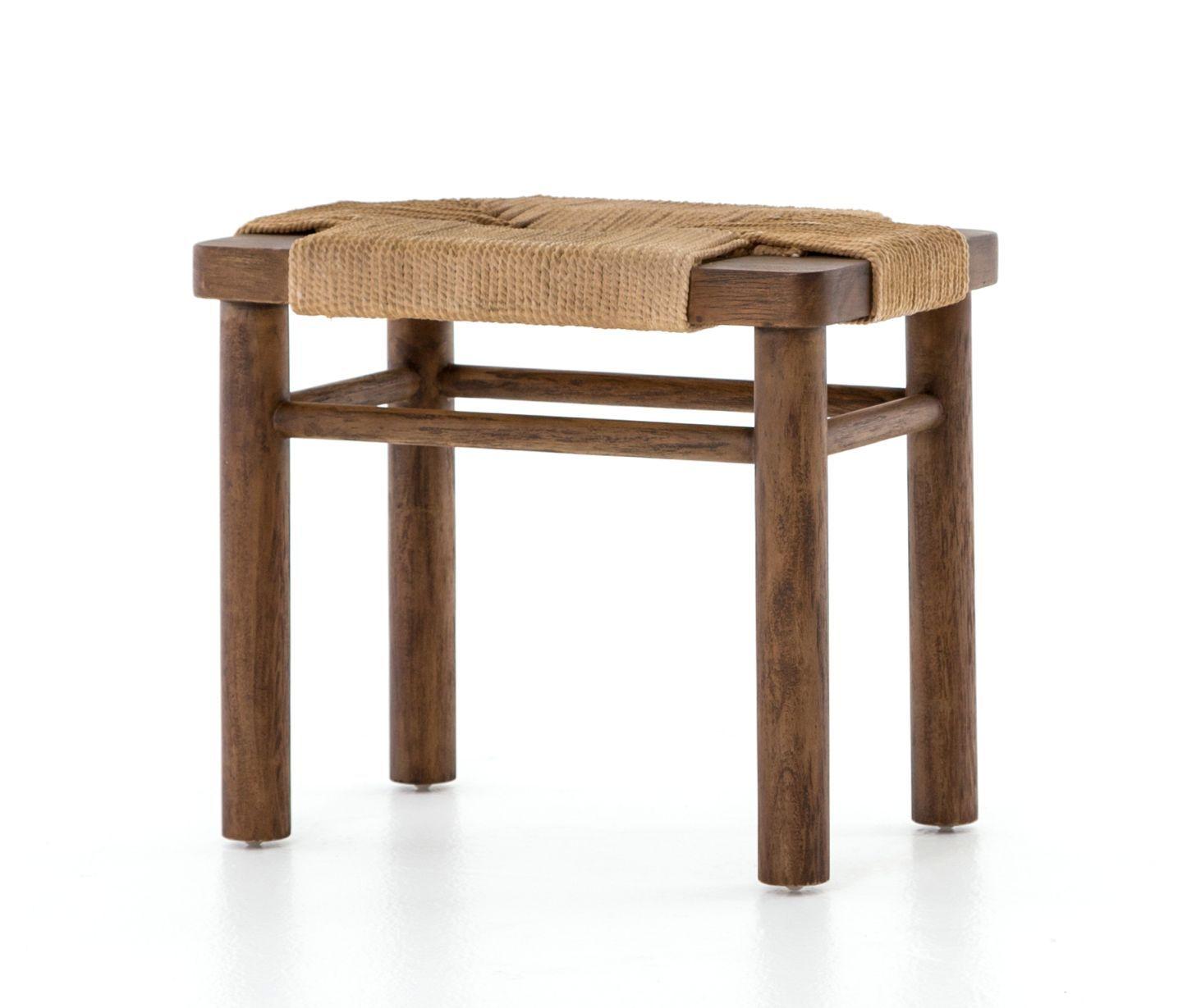 Brilliant Shawna Wood And Rope Stool Project Mount Vernon Stool Ibusinesslaw Wood Chair Design Ideas Ibusinesslaworg