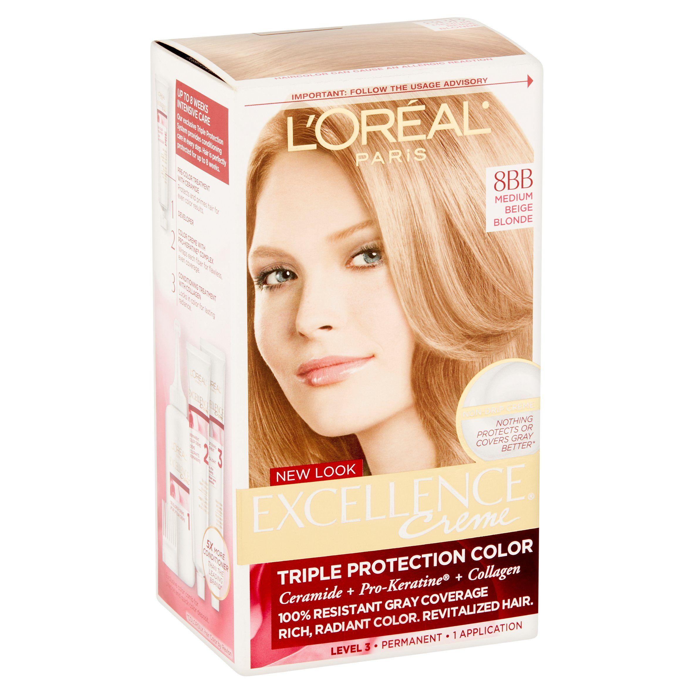 L Oreal Paris Excellence Creme Paris Oreal Creme Loreal Paris Permanent Hair Color Loreal