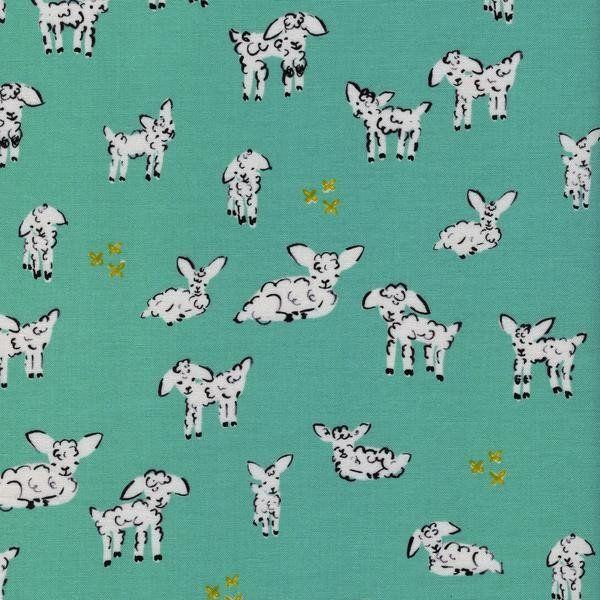 Little Lambs Turquoise