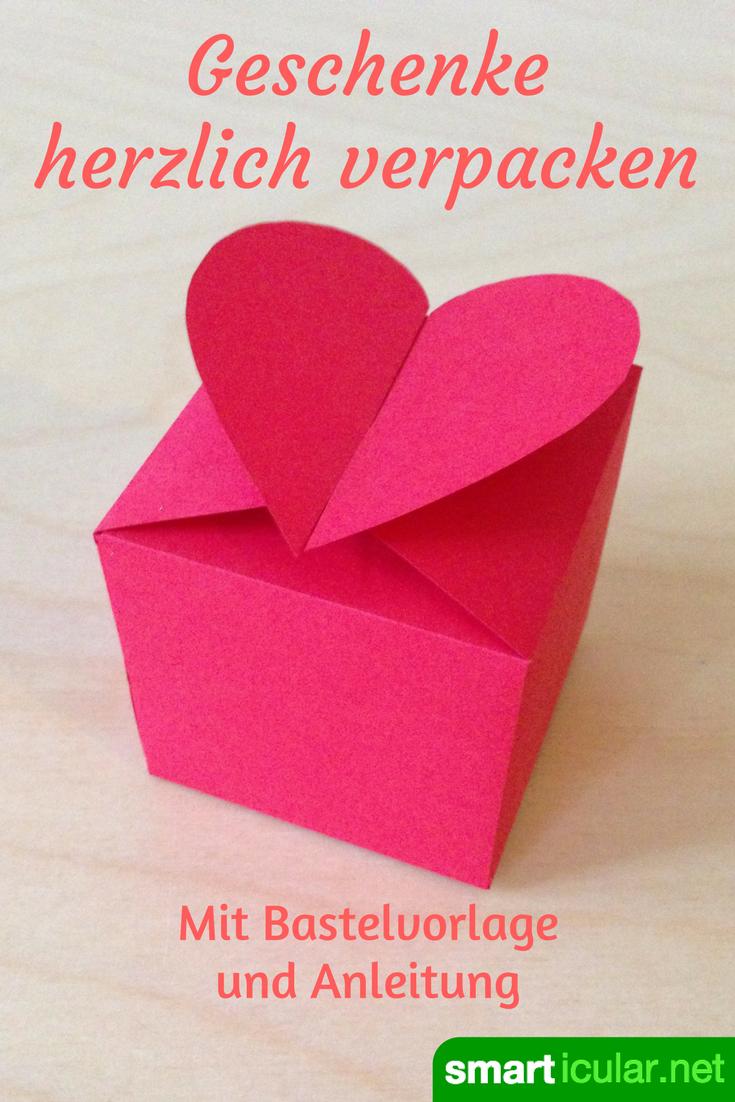 Geschenke basteln romantisch