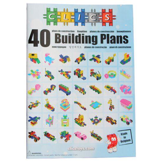 Buch mit Bauanleitungen für Clics
