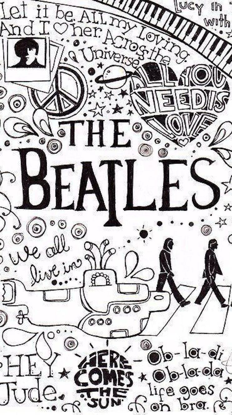 Pin by Amanda on Wallpaper Beatles wallpaper, Beatles