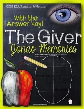 The Giver: Jonas' Memories and Answer Key | The giver ...
