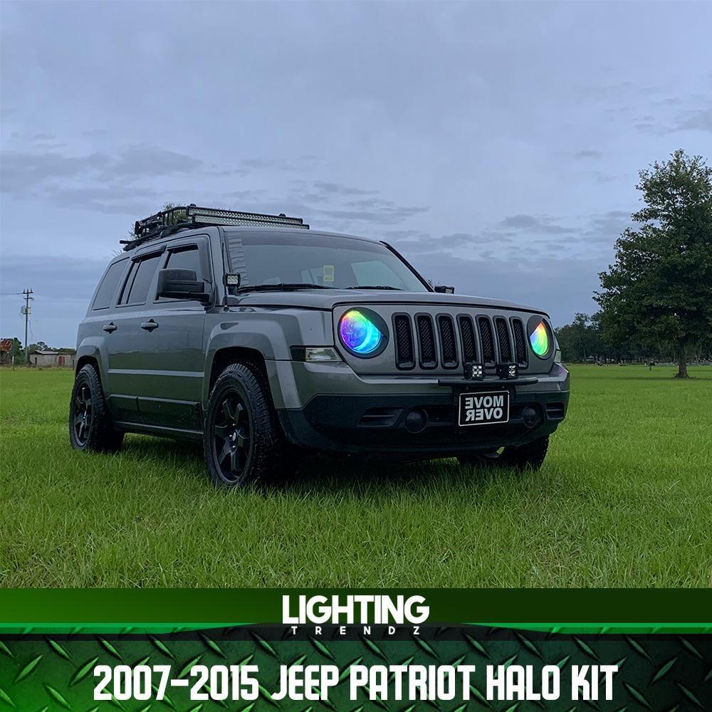 2007 2015 Jeep Patriot Halo Kit Jeep Patriot Jeep 2015 Jeep