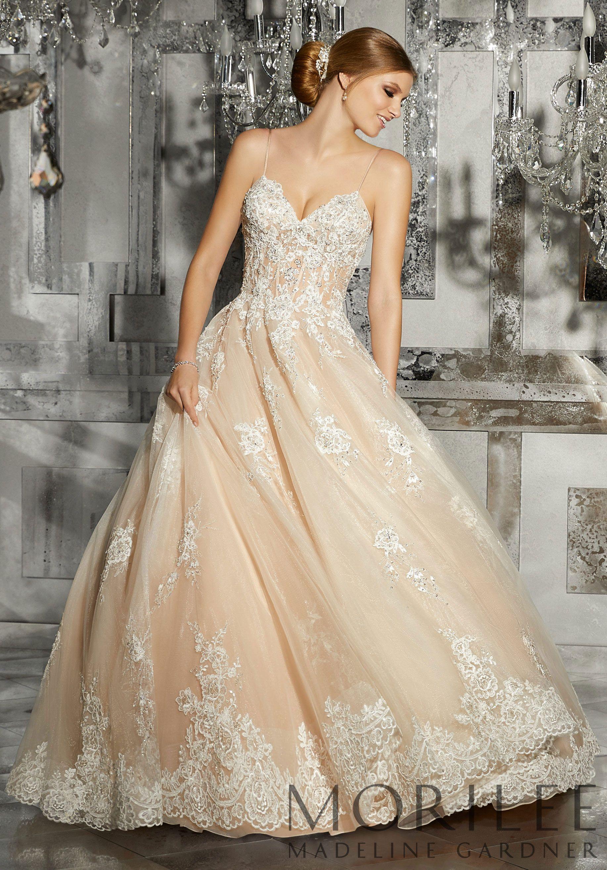 Morilee  Madeline Gardner Mariska Wedding Dress Princess worthy