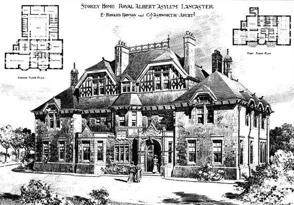 1899 – Storey House Royal Albert Asylum Lancaster Lancashire