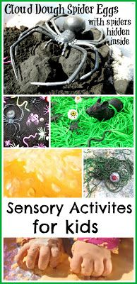 Halloween activities for kids- sensory activities