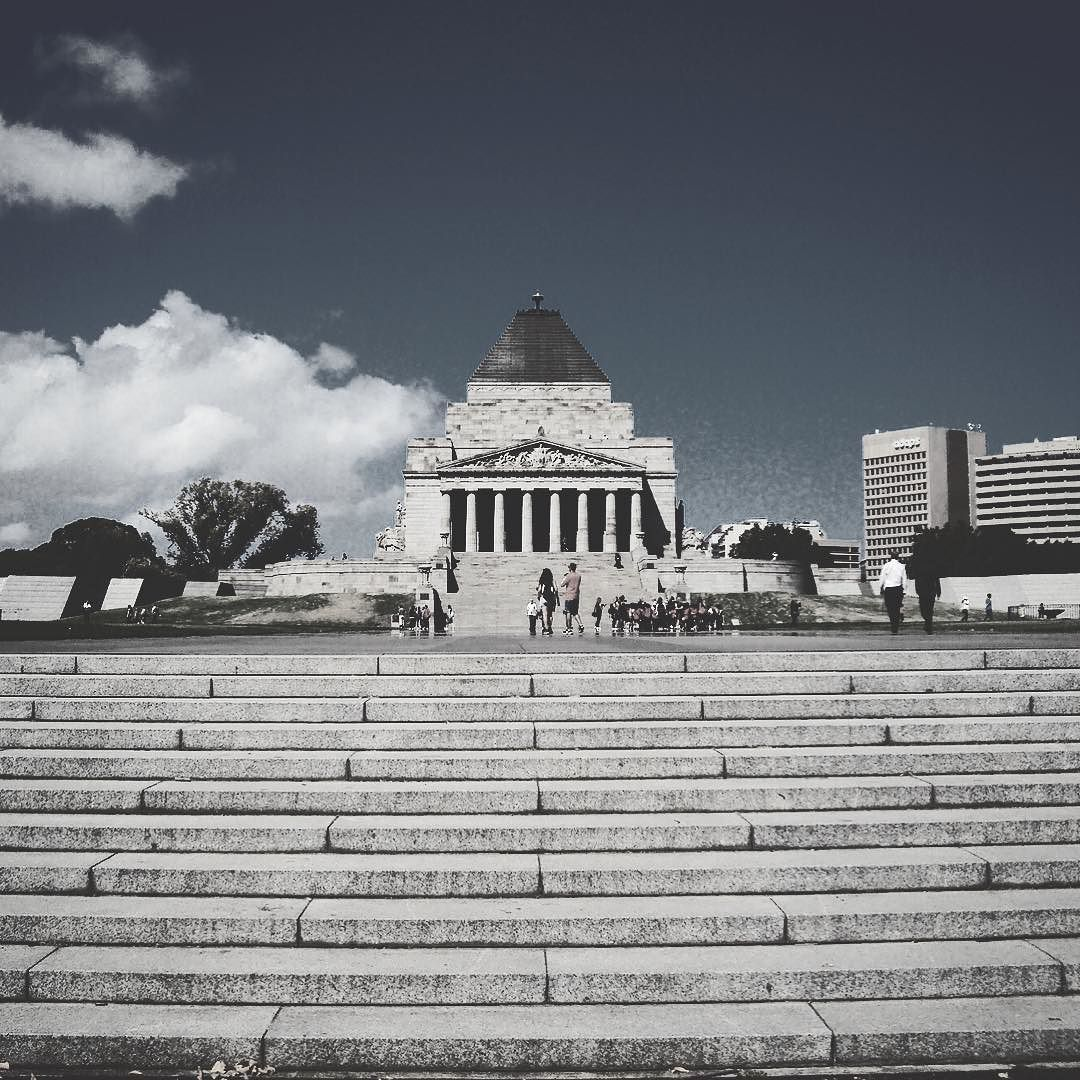 Truth and remembrance are not negotiable.  #melbourne #shrineofremembrancemelbourne #shrineofremembrance #australia #shrineofremembrance_vic #stkildaroad #lestweforget #victoria #melbournecity #visitmelbourne #photography #city #blackandwhitephotography #blackandwhitephoto #blackandwhite #webbtravels #visitvictoria #travel #shrineofremembranceview #shrine #melbourneiloveyou #ilovemelbournecity #views #vic #travelphotography #travelblogger #tourism