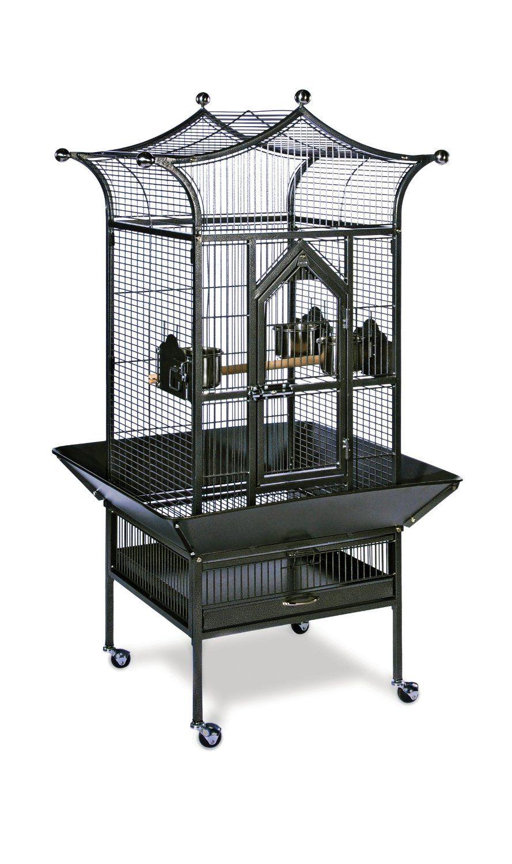 Pve Cage Tiel Open Top 2pk