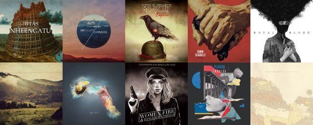 As 50 melhores capas de discos de 2014