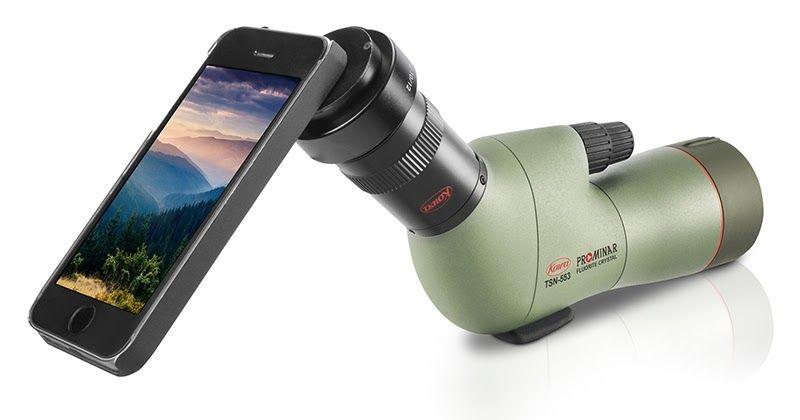 تستطيع اليوم تصوير الحياة البرية بموبايلك باستخدام حل ذكي يجعل من موبايلك عدسة سوبر تله فوتو وهذا ممكن من خلال Kowa الت Binoculars Electricity Electric Shaver