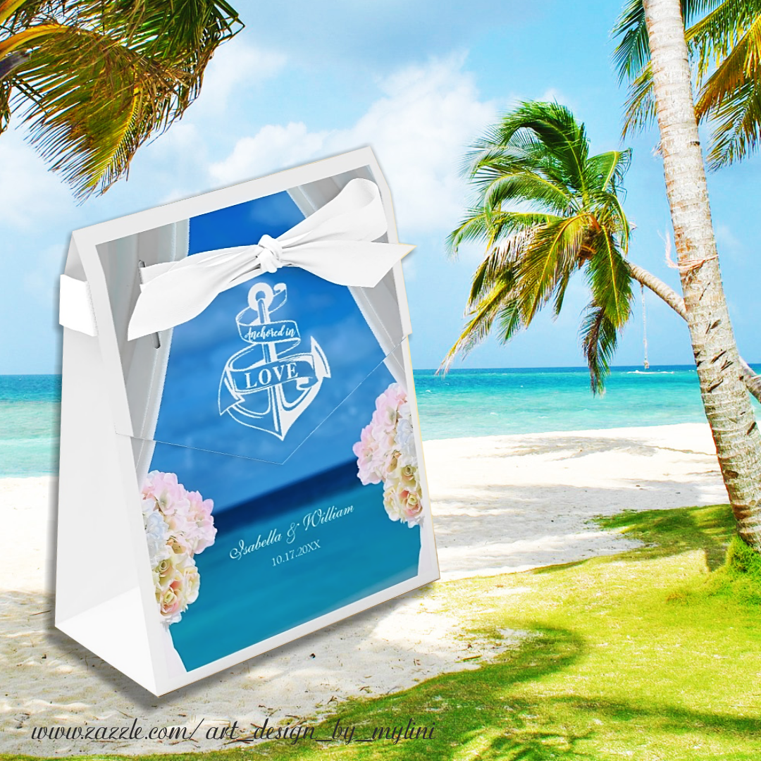 Beach wedding gift bags  Surprise your family and friends with gifts on your wedding  With
