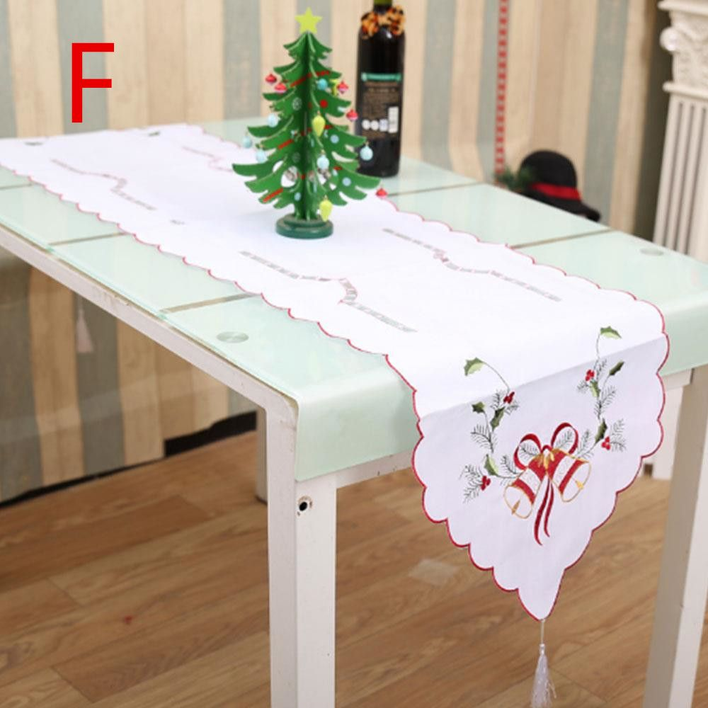 Christmas Disposable Tablecloth Home Table Cloth Cover Decor 108x180cm Universal Click Visit To