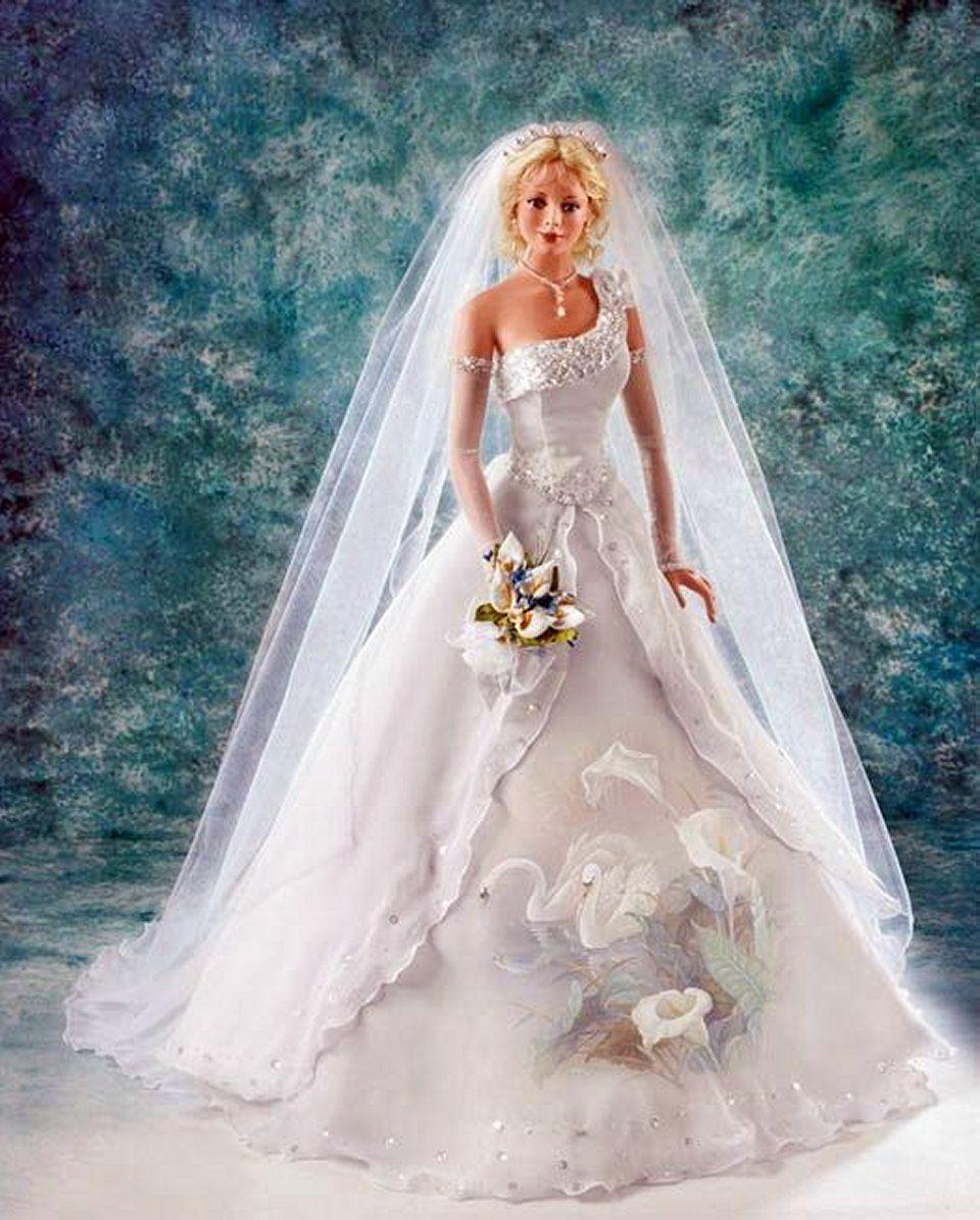 weddingstyle (mit Bildern)  Barbie hochzeitskleid, Barbie braut