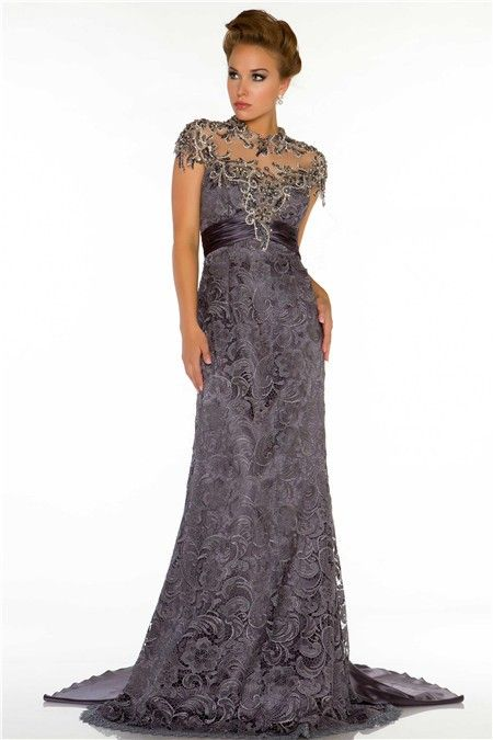 Charcoal Formal Gowns