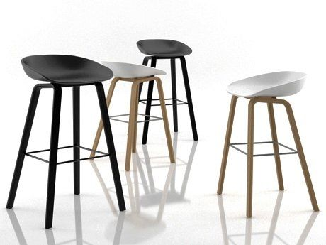 hay about a stool 3d model hee welling furniture 14 pinterest stools. Black Bedroom Furniture Sets. Home Design Ideas