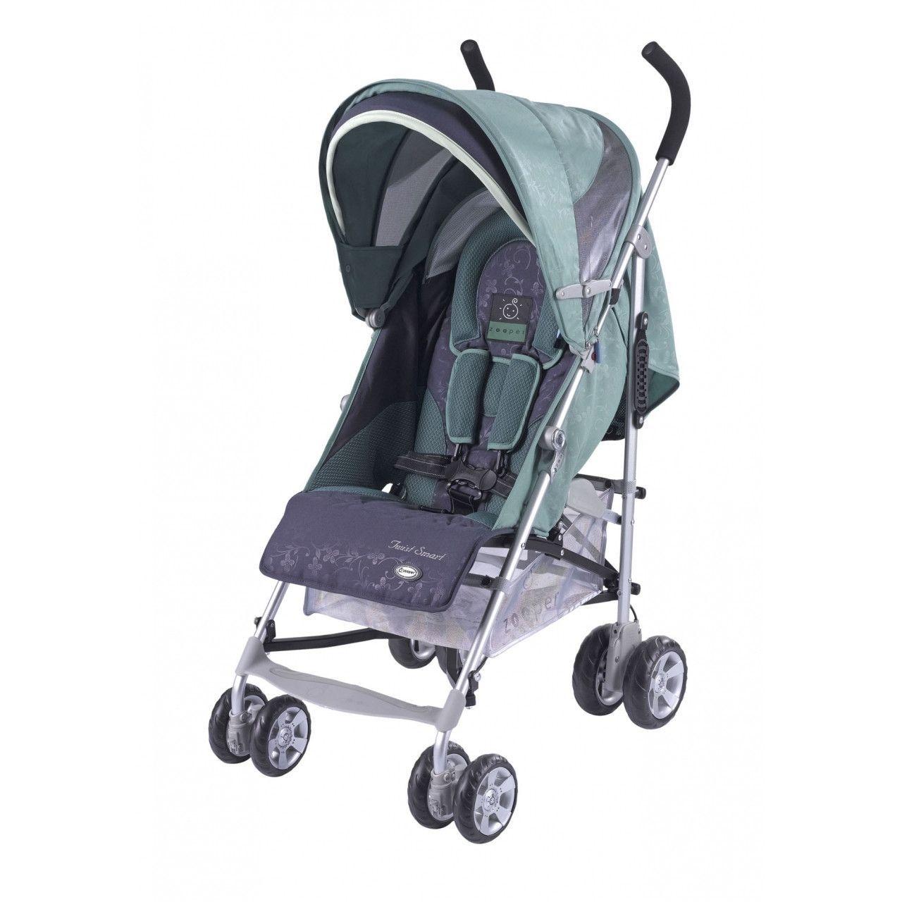 Zooper Twist Smart Umbrella Stroller Tealberry