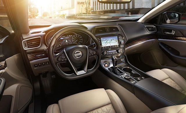 Nissan Maxima 2017 Interior >> 2017 Nissan Maxima Interior View Nissan Maxima Nissan