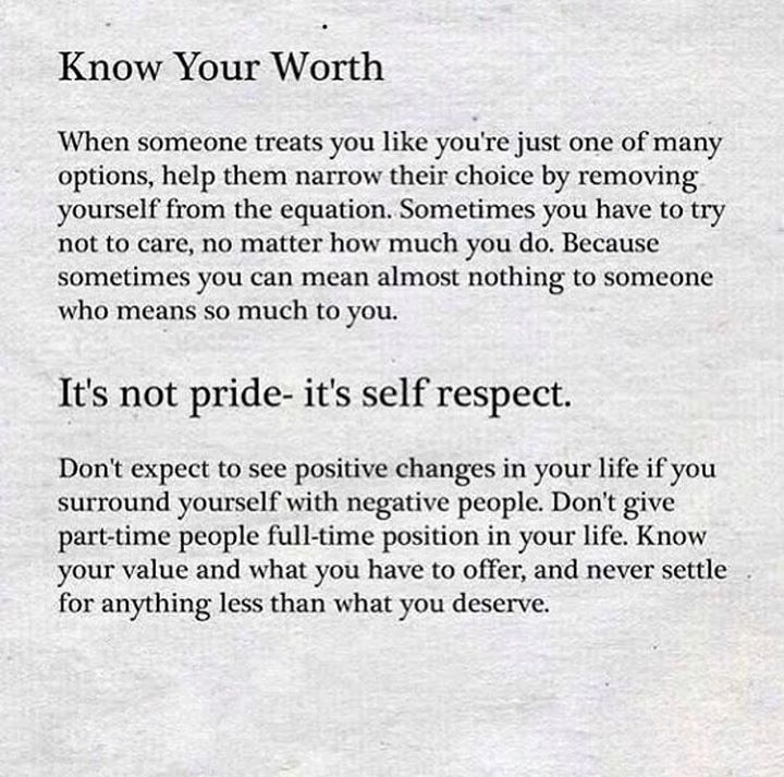 Know Your Worth E Quotes Positive Quotes Knowing Your Worth
