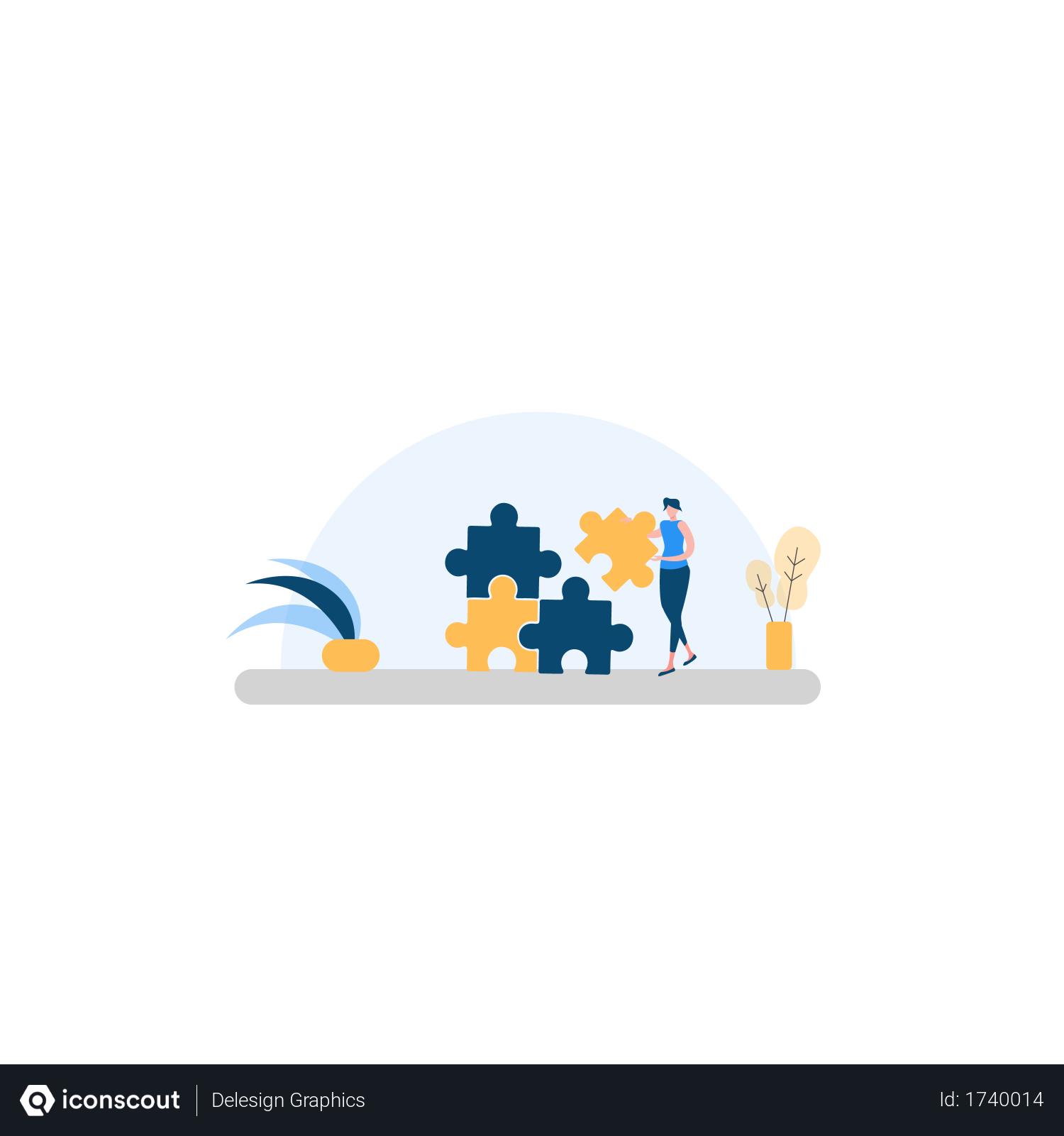 Free Problem Solving Illustration Download In Png Vector Format Problem Solving Free Problem Solving Illustration