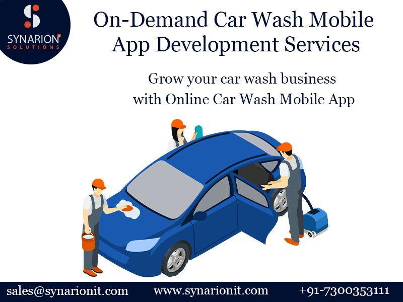 OnDemand Car Wash App Development in 2020 App