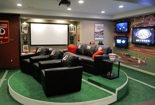 Luxury Eclectic Home Theater Design Ideas U0026 Pictures | Zillow Digs
