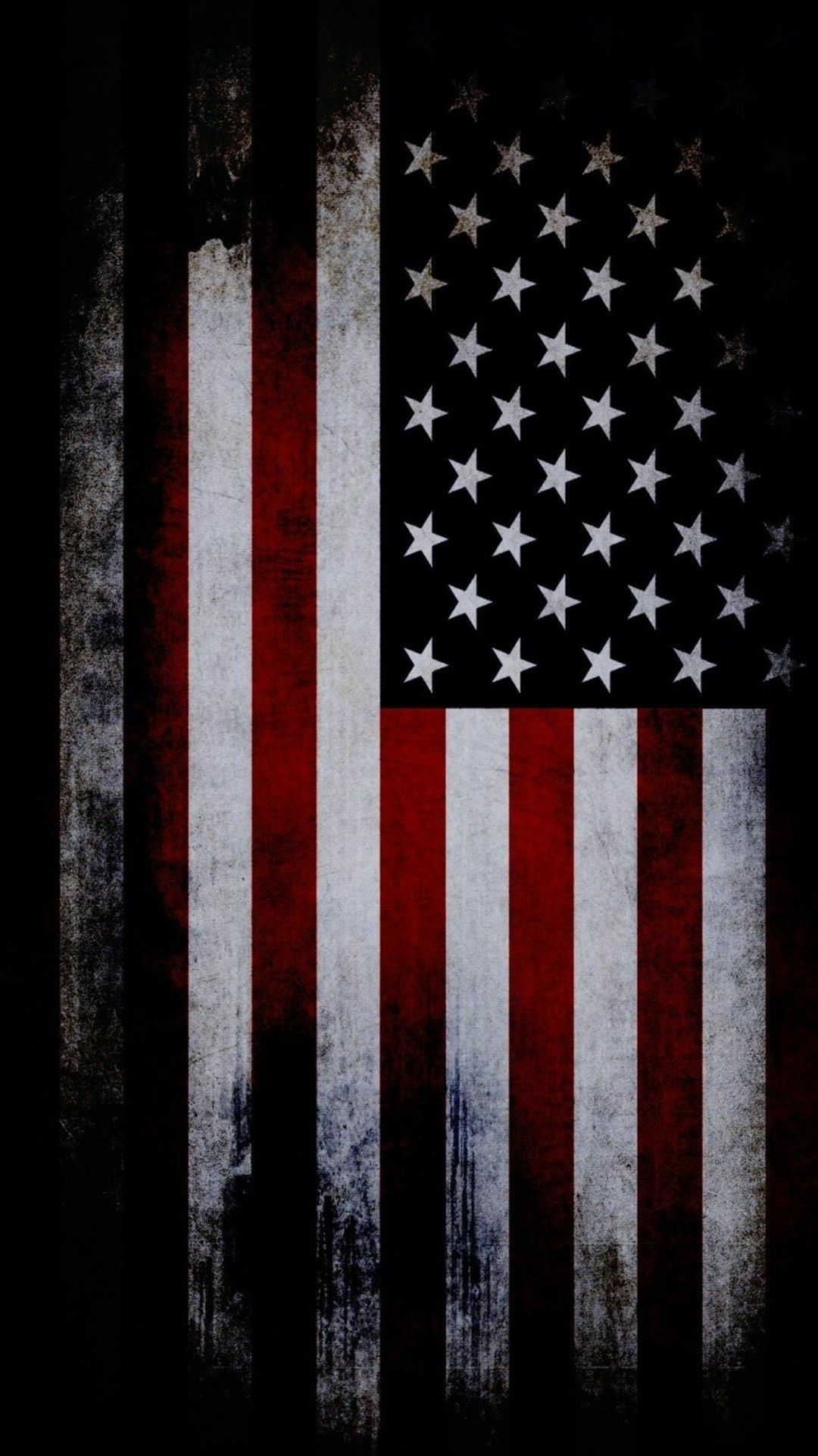 red, white & blue American flag wallpaper iphone