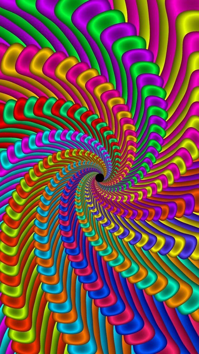 Psychedelic art, Pattern, Design, Fractal art, Spiral