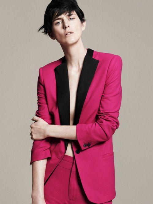 Pink blazer = amazing.