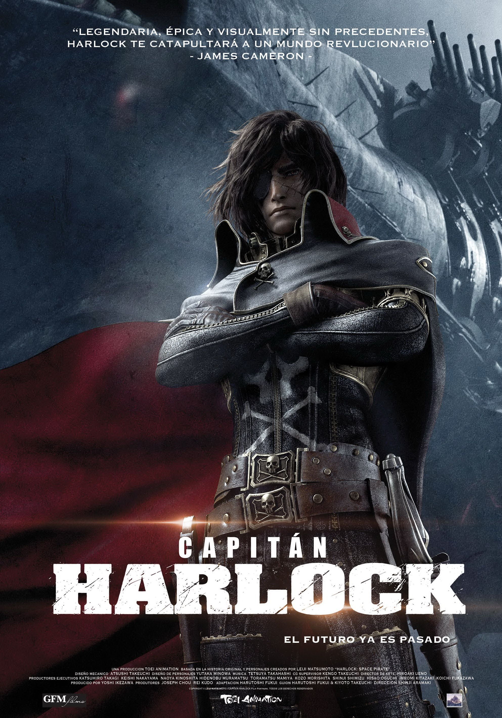 space pirate captain harlock movie free download
