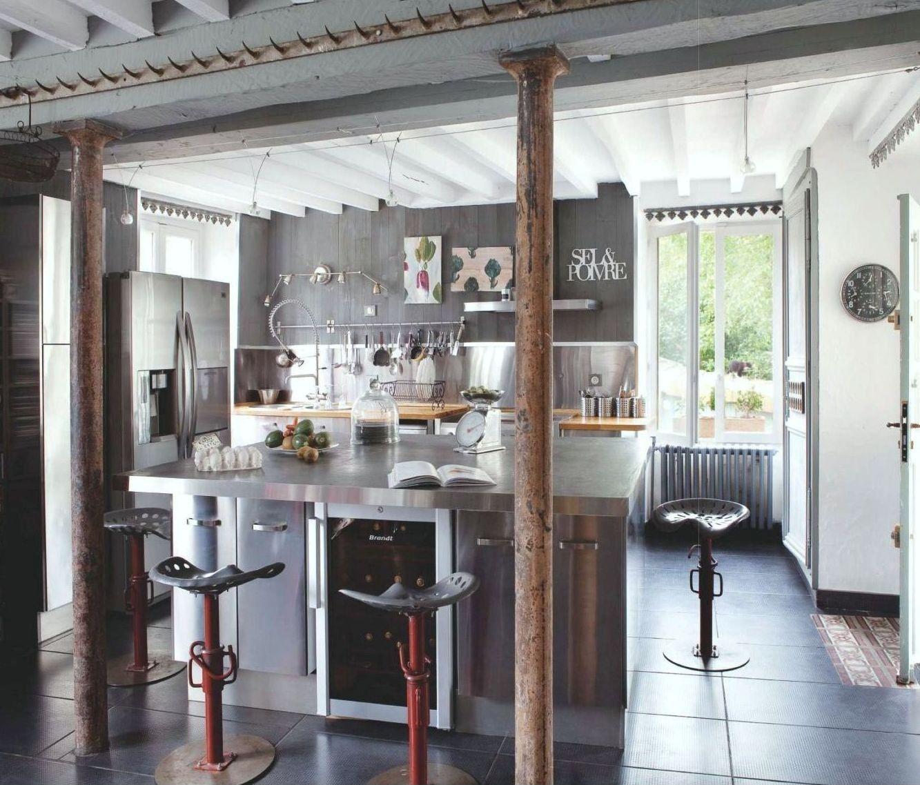 Cocina estilo industrial cocina industrial pinterest for Decoracion de cocinas industriales