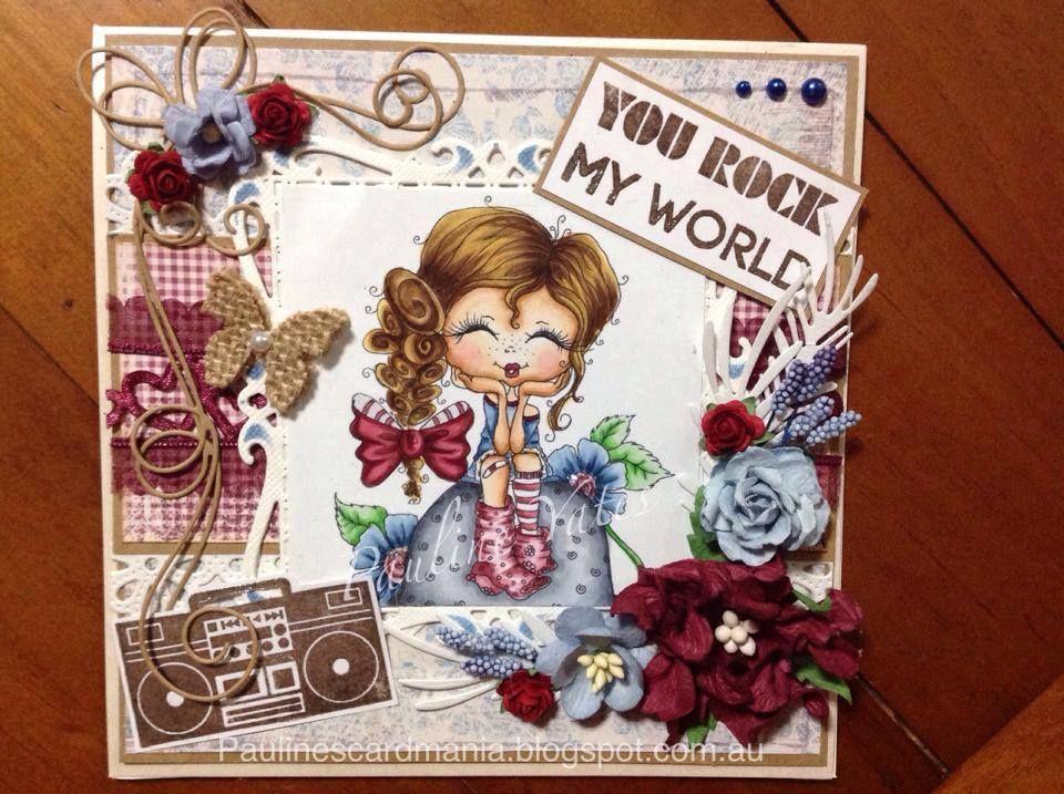 Bestie card by Pauline