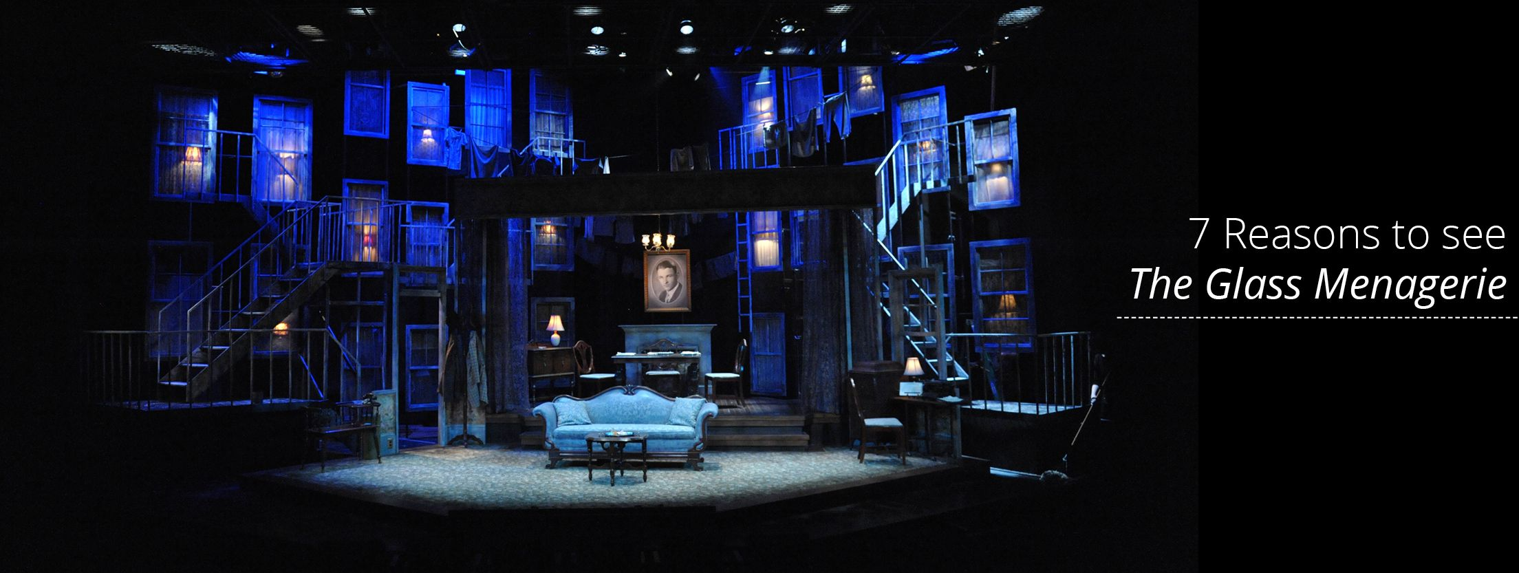The Glass Menagerie. Everyman Theatre. Set design by ...