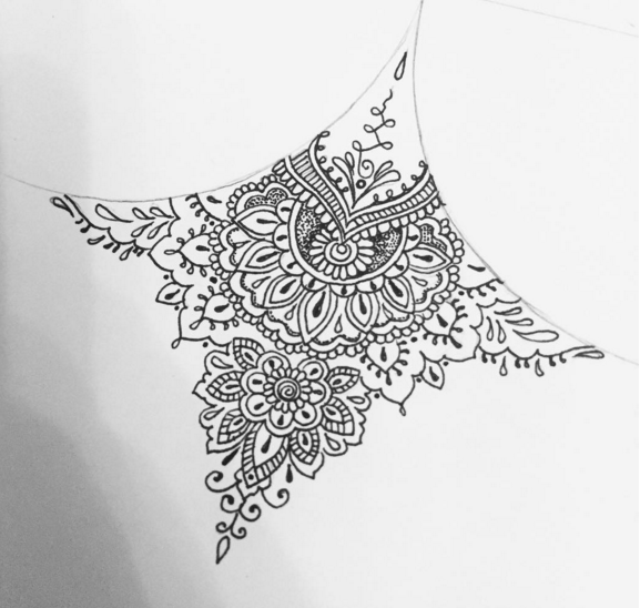 2f529d03728ed Olivia-Fayne Tattoo Design - STERNUM DESIGNS … | Tattoos | Mandala ...