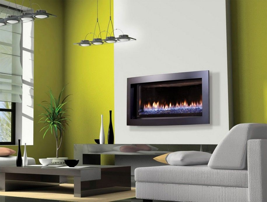 Defining Modern Fireplace Design For Your Room : Minimalist Modern ...