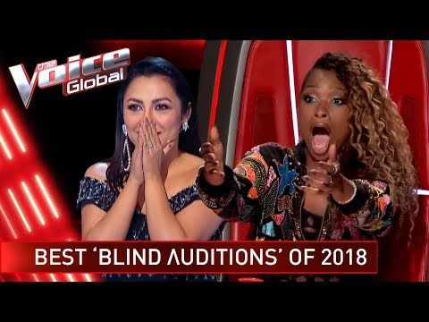 TOP 10 | BEST BLIND AUDITIONS OF 2018 | The Voice Rewind