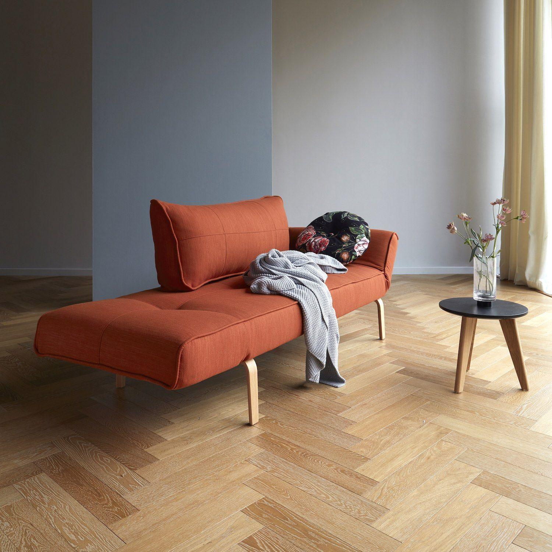 Divano letto singolo per camera ospiti materasso a molle