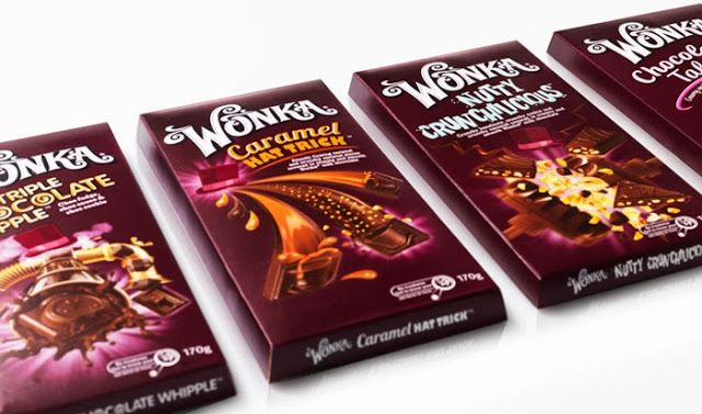 Wonka Chocolates By Nestlé Wonka Chocolate Candy