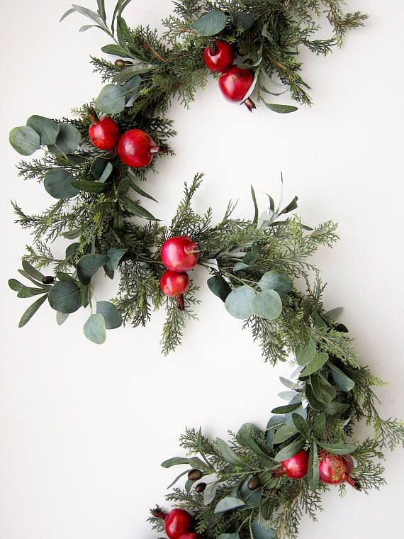 Add This Lush Greenery Garland To Your Mantle Or Dining Room Table