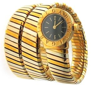 Bvlgari Serpenti Tubogas Tri Color 18k Gold Watch