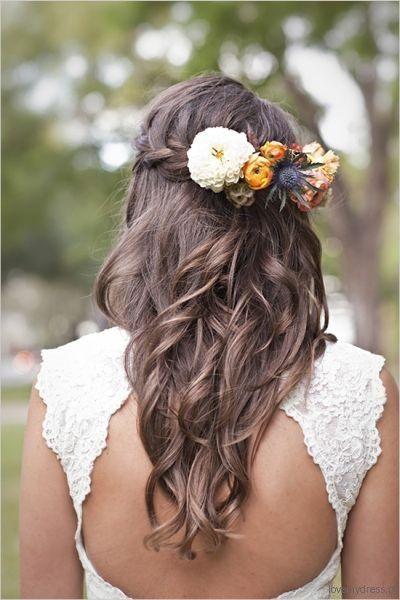 Propozycje Fryzur Slubnych Zywe Kwiaty We Wlosach Hairdo Wedding Wedding Hairstyles For Long Hair Bridesmaid Hair
